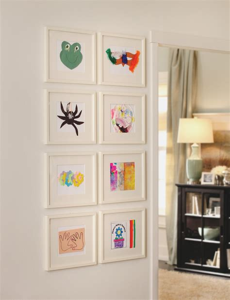 sticking frames to walls without nails diy sided glass frames for framing shells or dyed