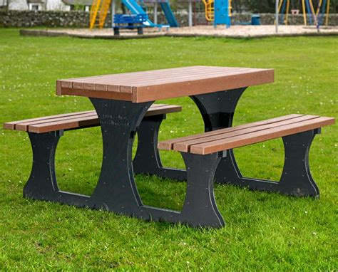 plastic picnic bench solway products picnic tables recycled plastic picnic table