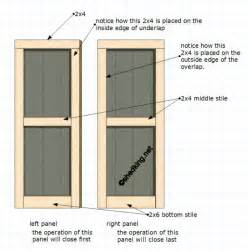 How To Build A Shed Door by Shed Doors