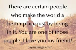 Love For A Friend Quotes by I Love My Friends Quotes