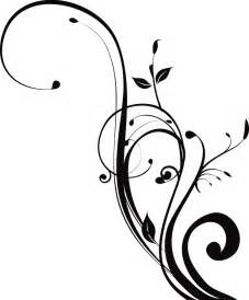 Designs In Black And White Black And White Swirl Design Cliparts Co
