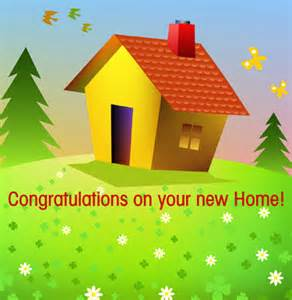 congrats new home new home greeting