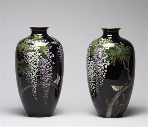 Japanese Cloisonne Vases by Japanese Cloisonn 233 Enamels From The Stephen W Fisher