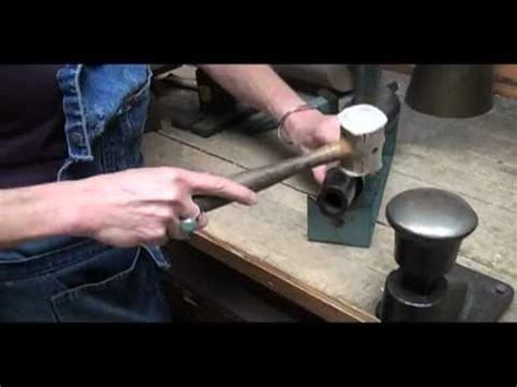 art metal: forming metal into a bracelet youtube