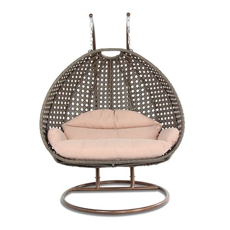 swingasan chair reviews review luxury 2 person wicker swing chair with stand