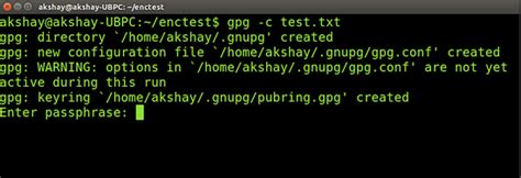 tutorial gpg linux getting started with commandline encryption tools on linux