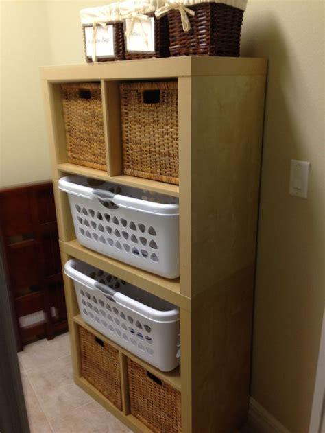 Ikea Laundry Room Storage Ikea Bookcases Reconfigured For Laundry Room Storage Reclaimed Projects Laundry