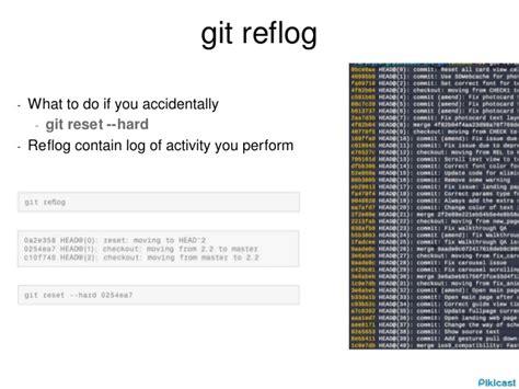 tutorial git reset git tutorial
