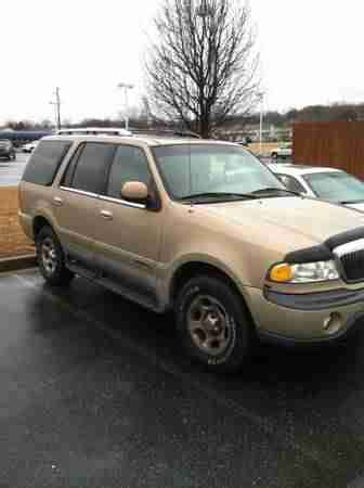 buy used 1998 lincoln navigator, no reserve! 4x4, leather