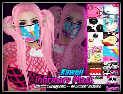 Masker Kawaii second marketplace killer infirmary mask kawaii