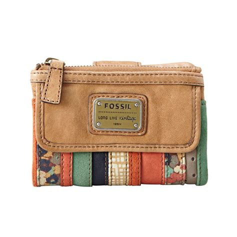 Dompet Fossil Original Fossil Tab Clutch Blue Stripe Nwt fossil patchwork 28 images fossil blue camel stripe patchwork leather tate tab clutch