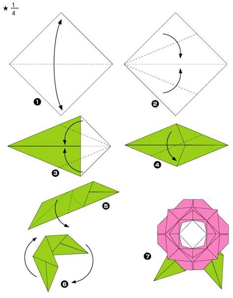 Rosa De Origami - el origami de una rosa imagui