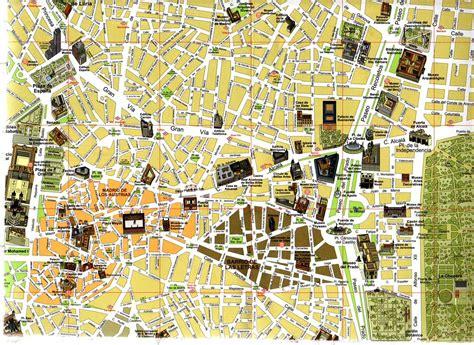 ufficio turismo madrid mappa centro madrid viaggi e vacanze a madrid la guida