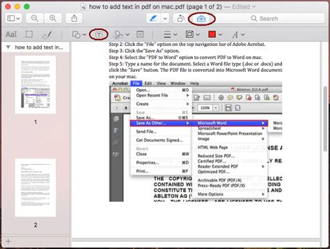 how to add text to pdf on mac with without preview