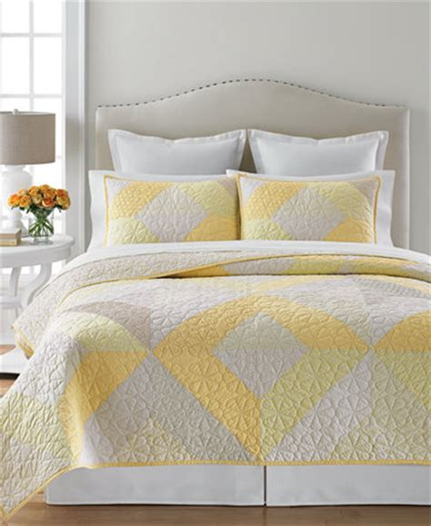 Martha Stewart Patchwork Quilt - martha stewart collection patchwork eyelet collector s