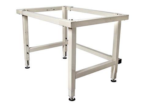 adjustable bench legs 4 leg manual adjustable height work table frames
