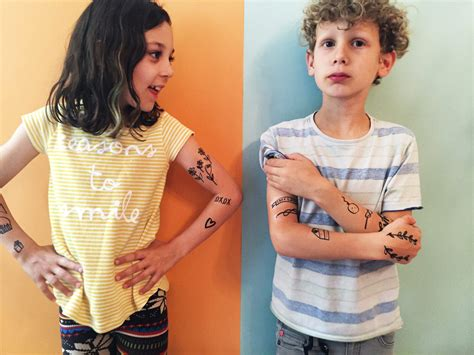 removable tattoos for kids make diy temporary tattoos