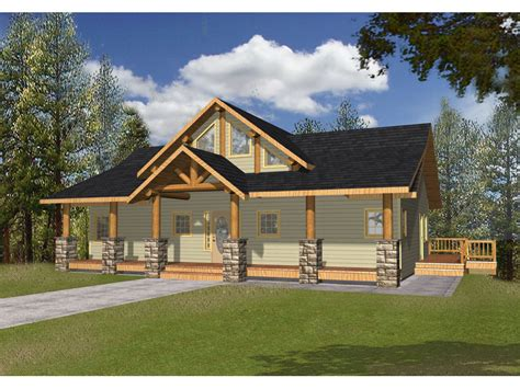 Lake Cottage Plans bonanza a frame cabin lake home plan 088d 0346 house