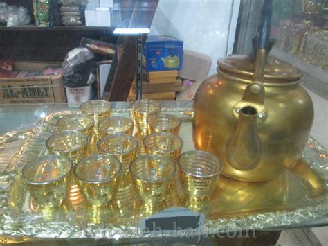 nabawi teko fancy zamzam 1 5 liter teko fancy 1 5l gelas 12pcs kuning oleh oleh haji