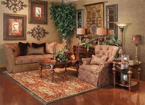 tuscan style living room furniture living brown rooms pinterest