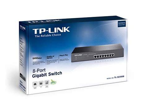 Tp Link Switch 8 Port Gigabit Tl Sg1008 Steel Resmi tl sg1008 8 port gigabit desktop rackmount switch tp link