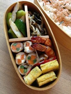 Egg Roll Bento Frozen Foods japanese food and bento box on