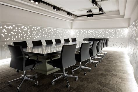 Boardroom Table Ideas Interior Amazing Office Meeting Room Design With Contemporary Large Conference Table In Black