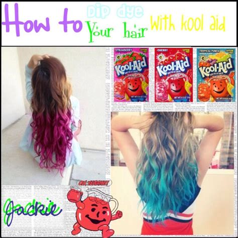 how to color hair with kool aid kool aid hair dye trusper