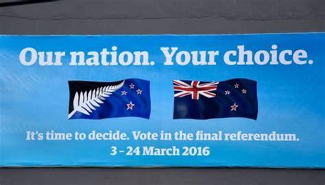 Kaos Australia Bendera Biru Tua rakyat selandia baru referendum pilih bendera baru dunia