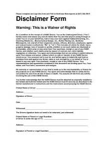 disclaimer forms template 10 best images of disclaimer notice for documents