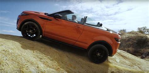 land rover range rover off road can a range rover evoque convertible handle itself off
