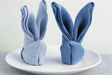 Origami Con I Tovaglioli by Come Piegare I Tovaglioli A Forma Di Coniglio
