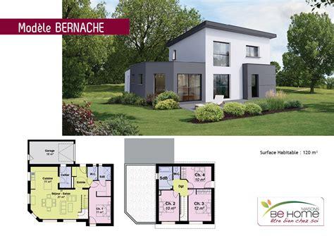 Plan Maison 5 Chambres Avec Etage by Plan De Maison 5 Chambres Plain Pied Gratuit 9 Plan De