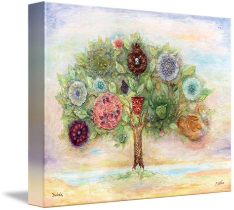 7 fruits of israel tree with seven fruits of israel by michoel muchnik