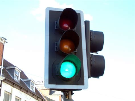 Green Traffic Light by Eriding Media Library Photographs Transport Traffic