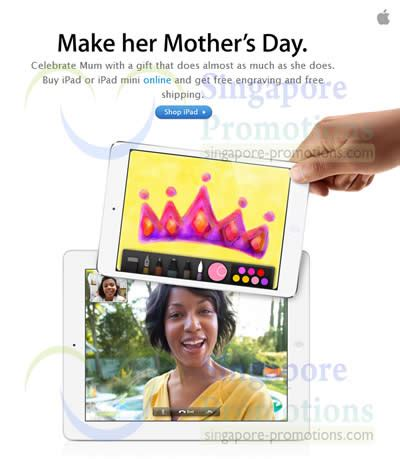 Where To Buy Apple Gift Cards In Singapore - apple sg store deadlines for timely mother s day delivery 25 apr 8 may 2013
