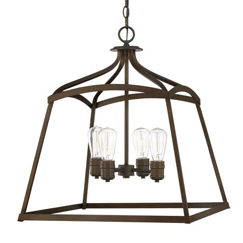 Light Capital by Capital Lighting Fixture Company Burnished Bronze Four