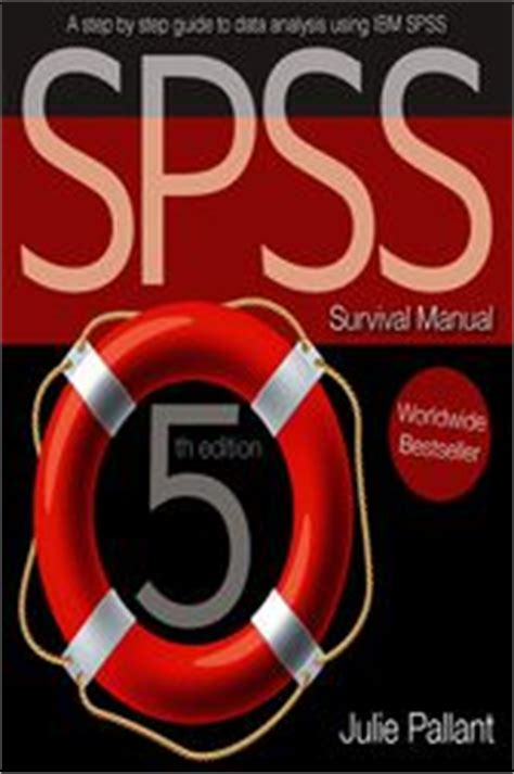 spss manual julie pallant spss survival manual ebook by julie pallant