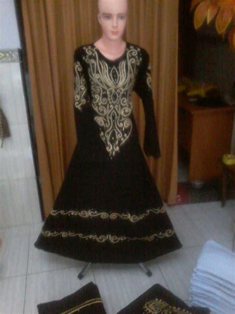 Gamis Pesta Arab gamis akhwat gamis saudi hitam grosir abaya hitam model