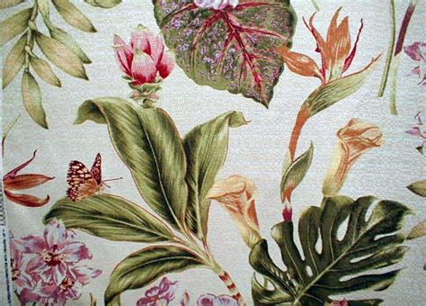 botanical upholstery fabric 18 99yd