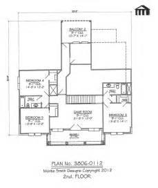 5 Room Floor Plan by Plan No 3806 0112