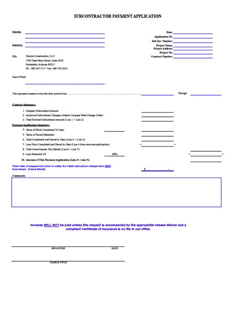 Blank Tax Invoice Template – Invoice Template Pdf   free printable invoice