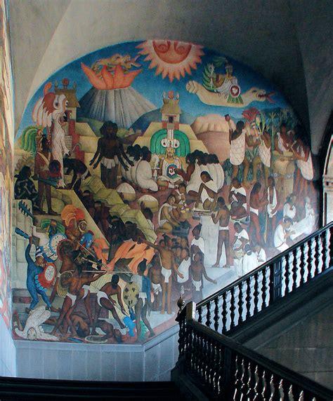 Dragon Wall Mural the national palace or palacio nacional diego rivera