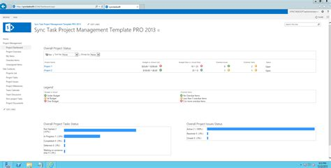 Sync Task Project Management Template Professional 2013 Free Download Sync Task Project Synchronization License Template