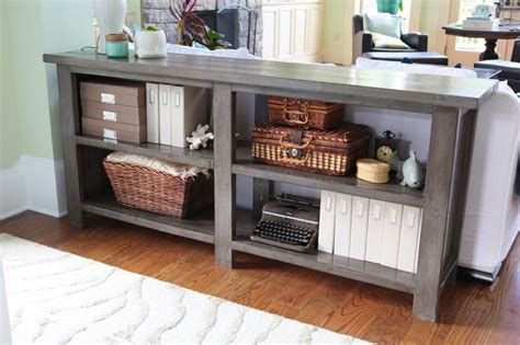 Cheap Sofa Tables With Storage by X Doesn T The Spot Diy Sofa Table Diy Sofa And