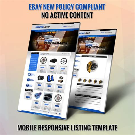 Unique Ebay Store Templates Listing Auction Html Template Free Installation Ebay Ebay Store Templates Free