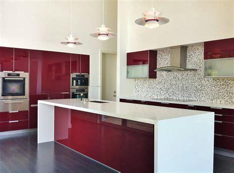 Custom Painted Kitchen Cabinets by 15 Lindas Cozinhas Para Quem Adora Vermelho Limaonagua