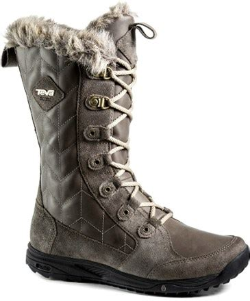 teva lenawee leather wp winter boots s rei