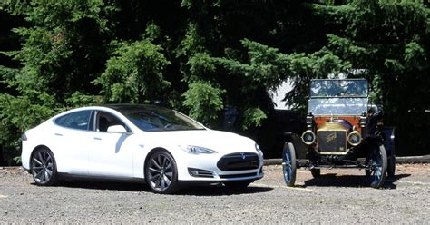 the tesla model s and ford model t kicked revolutions