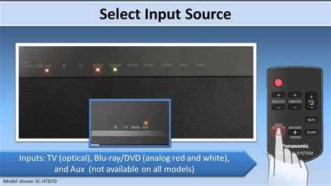 Getting Tv Sound From Your Sc Htb370 Sc Htb70 Sc Htb65